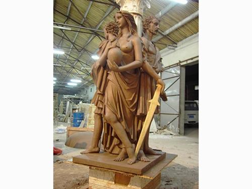 马鞍山雕塑